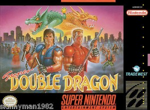 A3-80s-Replica-Reproduction-Game-PRINT-Box-Art-Poster-Snes-Super-Double-Dragon-190936567950